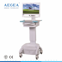 AG-WT002C Hospital nurse workstation medical ward room laptop computer cart